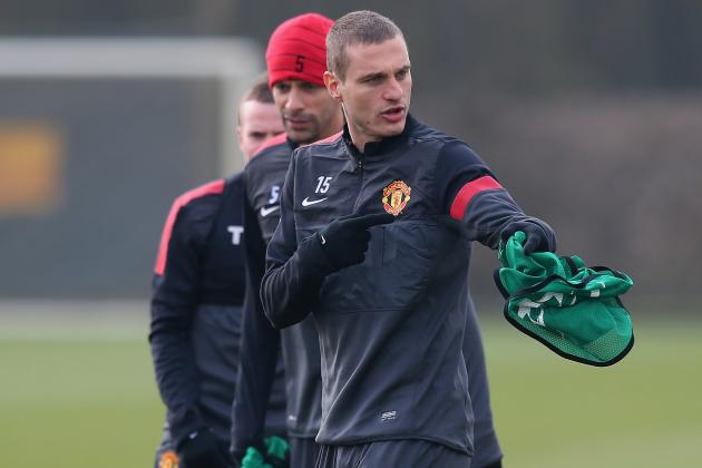 Defender Nemanja Vidic Insists Title Race Is Not over