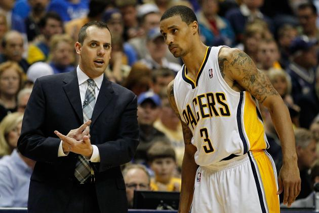 Coach Frank Vogel Supports George Hill After Comments About Friday's Crowd