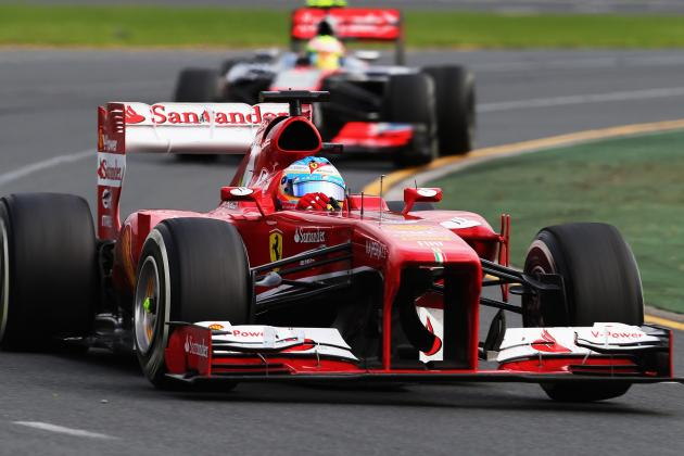 Alonso Happy with Ferrari but Lotus a Concern