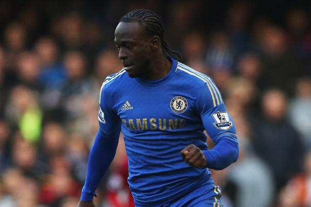 Moses Replaces Oscar in Starting XI vs. West Ham