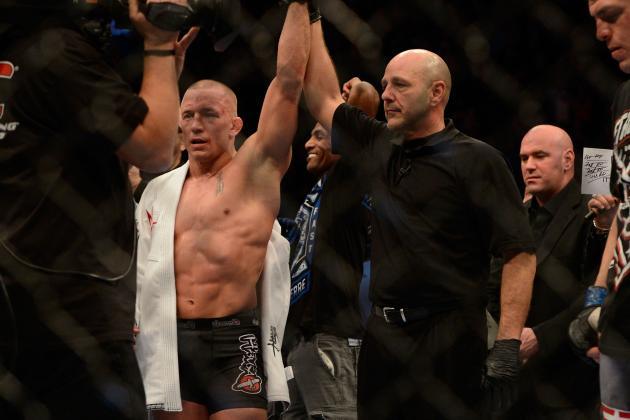 GSP vs. Diaz Fight Card: Is GSP the Most Dominant Champion in the UFC?