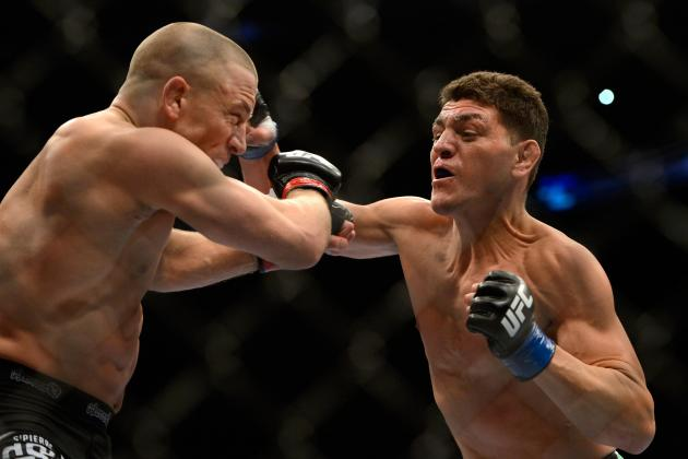 UFC 158: Nick Diaz Would Be Foolish to Retire After Loss to Georges St-Pierre