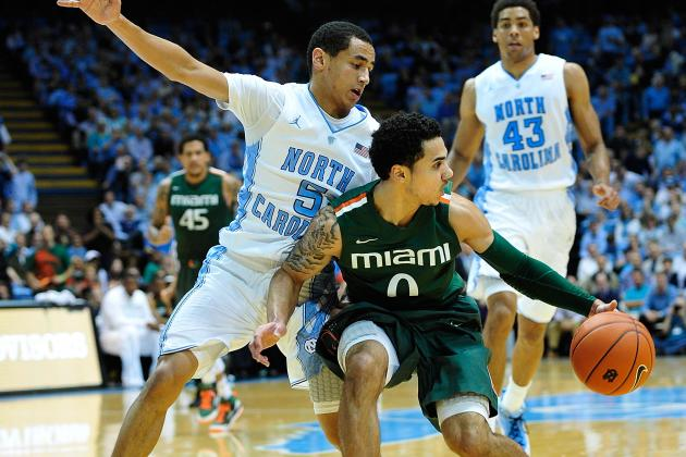 ESPN Gamecast: North Carolina vs. Miami (FL)