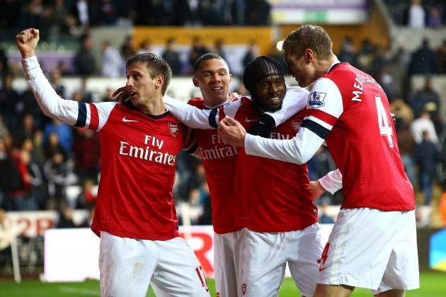 Swansea City 0-2 Arsenal: Talking Points from Efficient Gunners Win