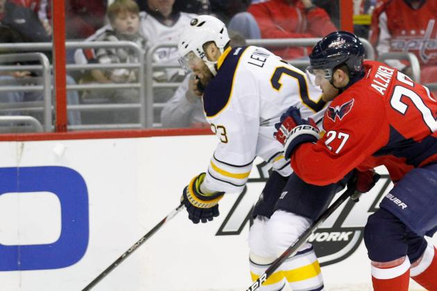 Sabres' Leino Impresses in Return from Hip Injury