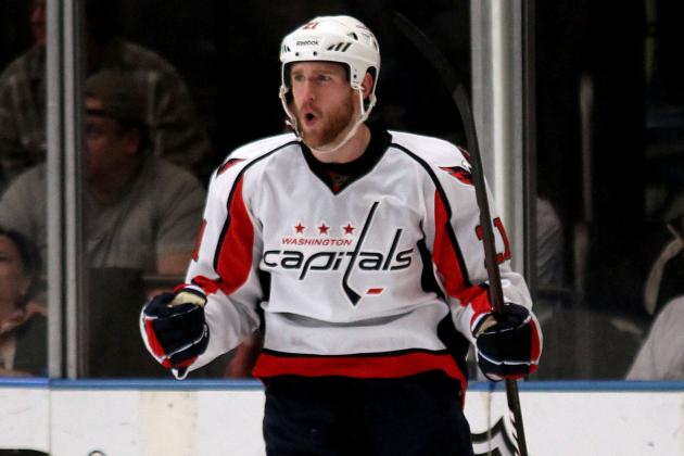 Brooks Laich Nearing Return from Groin Injury