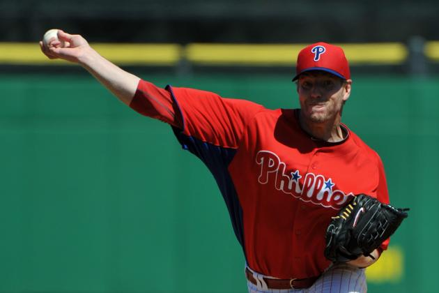 Roy Halladay Leaves Start After 1 Inning Due to Stomach Virus