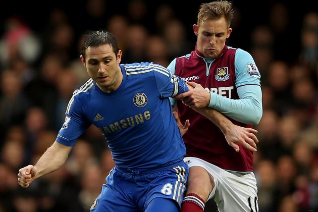 Chelsea 2-0 West Ham: Lampard Nets 200