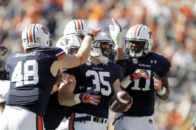 Auburn Football: All-American Jay Prosch Will Shine in Tigers Offense in 2013