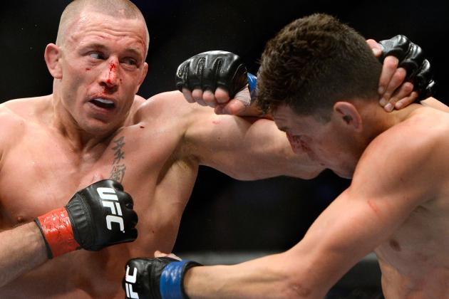 GSP vs. Diaz: What Went Wrong for Nick Diaz at UFC 158