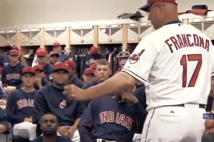 Francona, Indians Do Harlem Shake