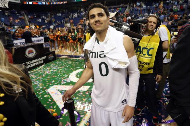 North Carolina vs. Miami: Shane Larkin's Big Game Shows Canes Ready for Deep Run
