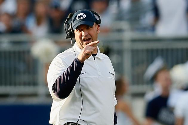 Bill O'Brien Breaks Down the PSU QB Competition