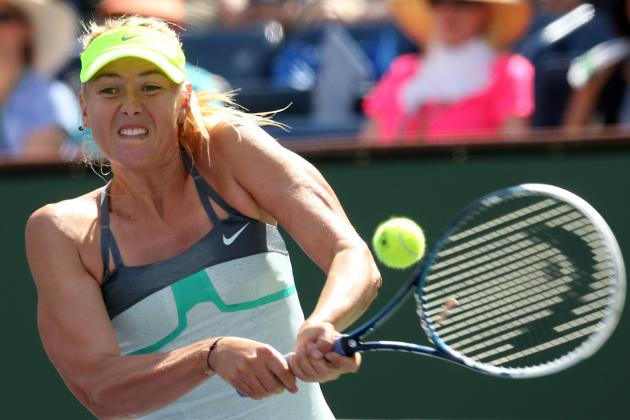 Sharapova Rolls to Indian Wells Title