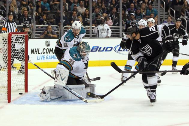 San Jose Sharks fall to Los Angeles Kings 5-2
