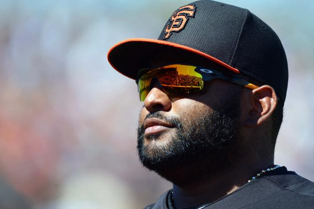 Sandoval Injures Elbow in Pre-Game Warmups
