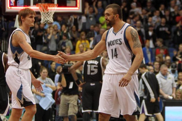 Kirilenko, Pekovic Available to Play vs. Hornets