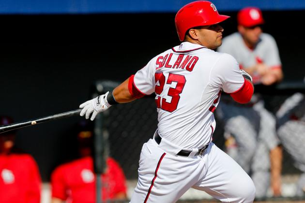 Jhonatan Solano Plays Left Field, Tyler Moore Has a Two-Homer Day