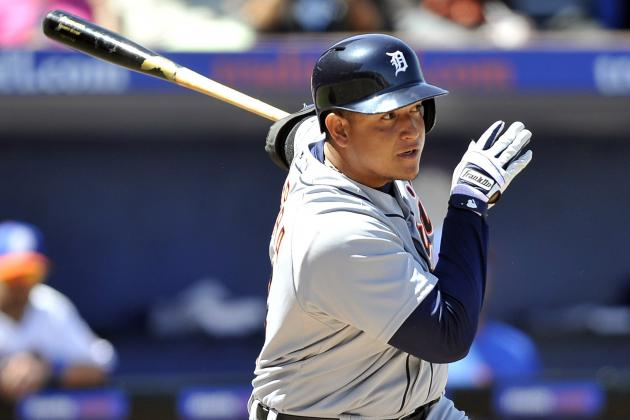 Cabrera Ready to Make Run with Tigers