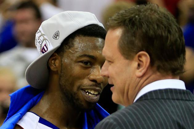 Kansas Will Open NCAA Tournament at Sprint Center as No. 1 Seed