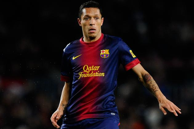 Adriano Injury Adds to Barca Defensive Woes