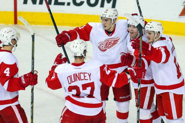 Detroit Red Wings: 3 Stars of the Week