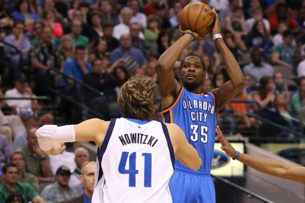 Kevin Durant Took Over; Dirk Nowitzki Served as Decoy