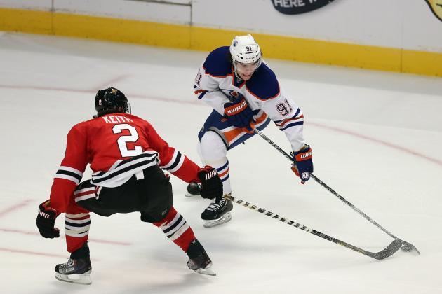 Edmonton Oilers Edge Nashville Predators at Home, Keep Playoff Hopes Alive