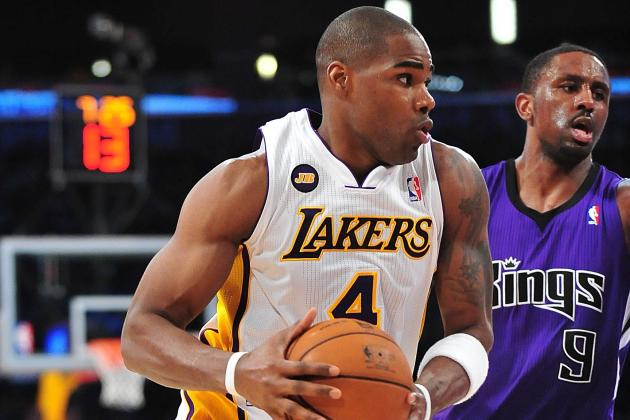 Jamison leads Lakers past Kings