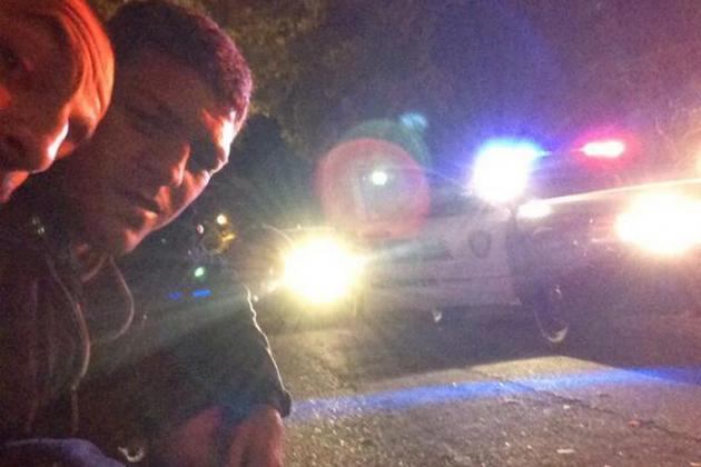 Updated: Did Nick Diaz Tweet Photos of Himself Being Detained by Police?