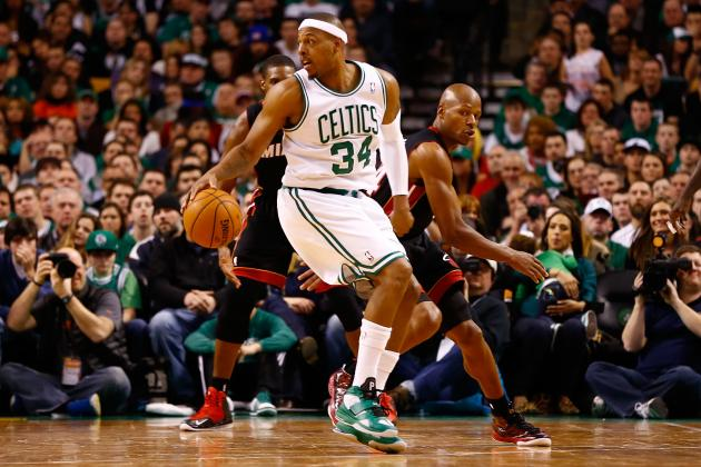Boston Celtics Are Miami Heat's Only Threat in Eastern Conference Playoff Race