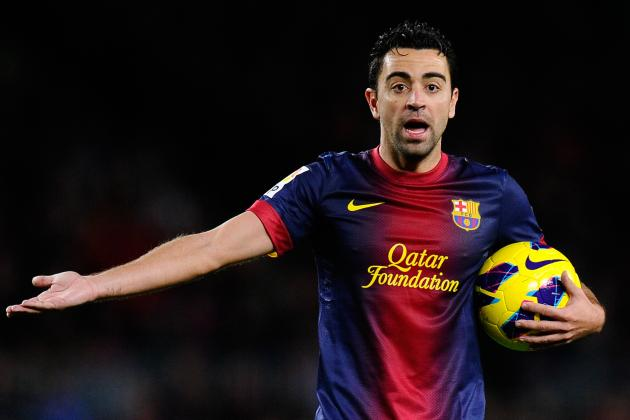 Barca: Xavi, Don't Worsen Injury