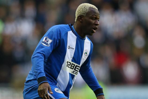 Wigan Striker Arouna Kone Happy to Put the Team First