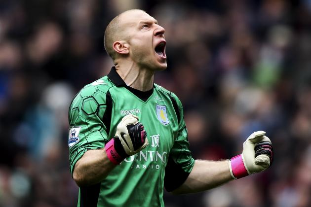 Brad Guzan Confident Aston Villa Can Battle Their Way to Safety