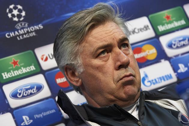 Carlo Ancelotti Refuses to Criticise His Squad After Draw with St Etienne