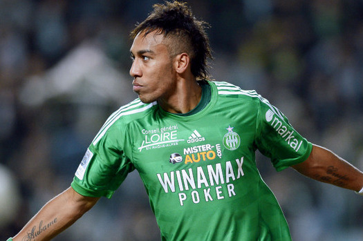 St Etienne Forward Pierre-Emerick Aubameyang Welcomes PSG Link