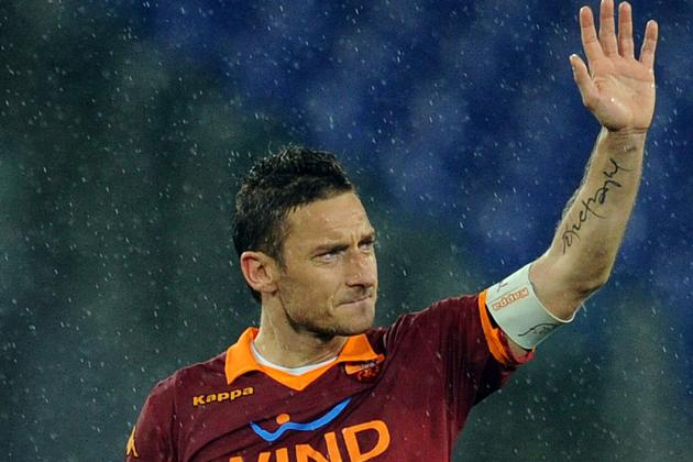 Historic Totti Inspires Roma Victory