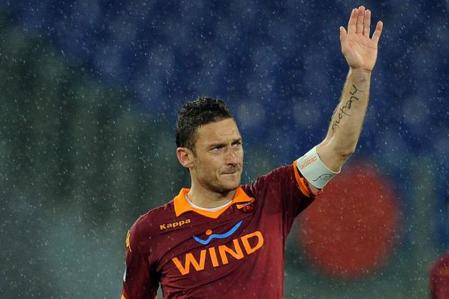 Watch Francesco Totti's Incredible Back-Heeled Pass vs. Parma
