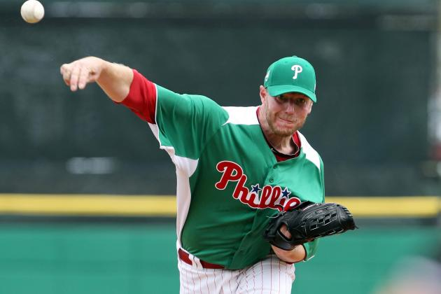 Phillies' Roy Halladay Leaves After an Inning with Stomach Virus