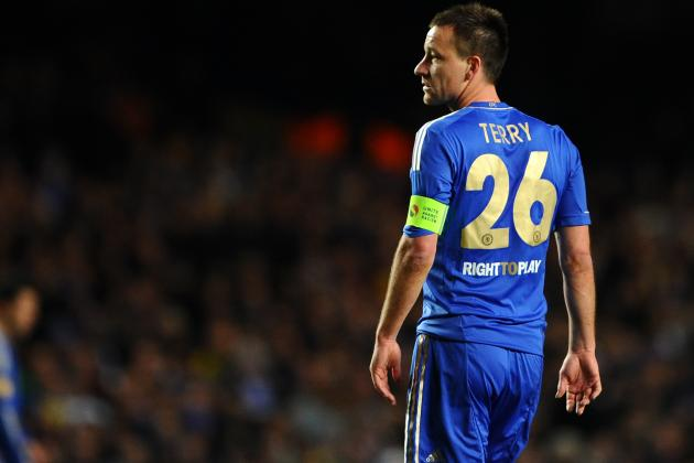 Chelsea's John Terry Struck by Coins During Win over West Ham United