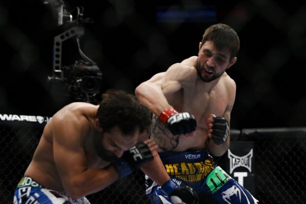 Carlos Condit vs. Johny Hendricks: Breaking Down the FightMetric Numbers
