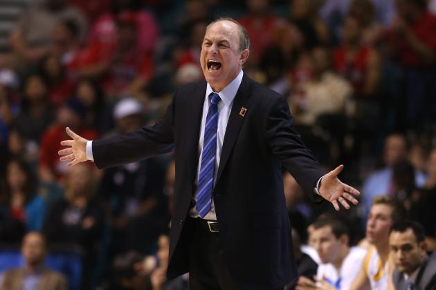 Furious UCLA Coach Howland Issued Technical for Tossing Jacket into Stands