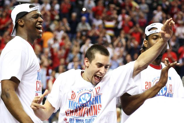 Ole Miss' Marshall Henderson Wins 10 Games of Beer Pong After SEC Tournament