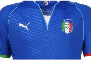 New Italy Shirt for Confederations Cup