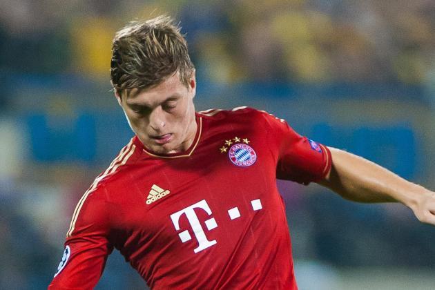 Germany Lose Kroos, Lars & Sven Bender