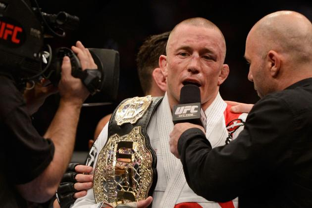 Time Is Now for Georges St-Pierre vs. Anderson Silva UFC Superfight