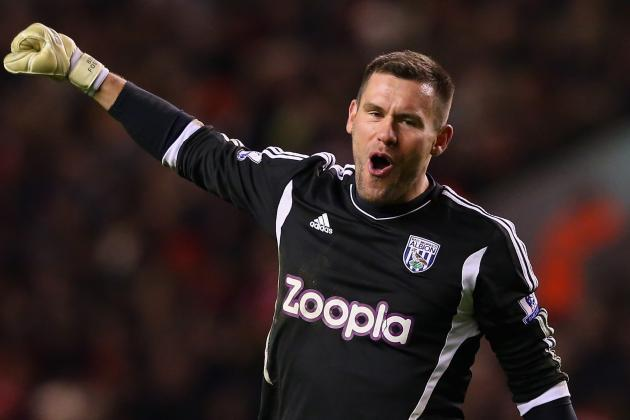 West Brom Keeper Ben Foster Does Not Regret International Exile