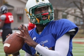 4-Star QB Johnson Plans on Playing Football, Basketball at Auburn
