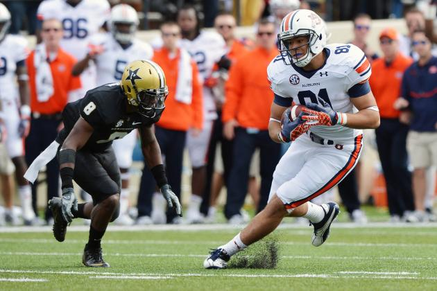 Taking a Closer Look at Auburn's HBs/TEs as Tigers Prepare for Spring Practice