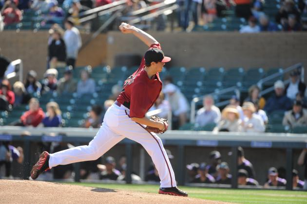 Diamondbacks Send Top Prospect Tyler Skaggs to Triple-a